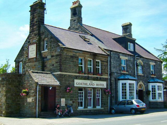 The Goathland Hotel which becomes the Aidensfield Arms