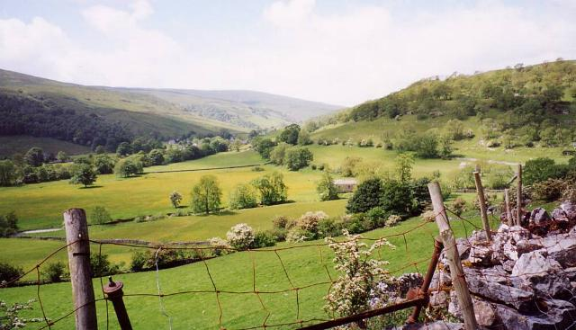 A view across Swaledale