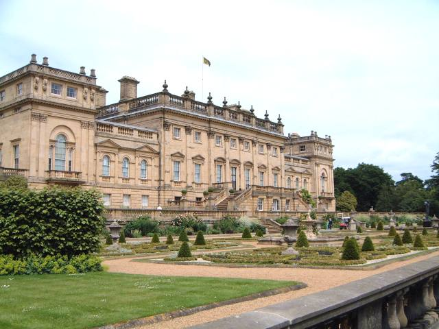 Harewood House and estate near Leeds