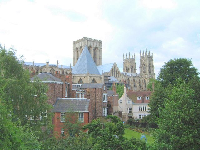 A view of the Minster from the City Bar Walls