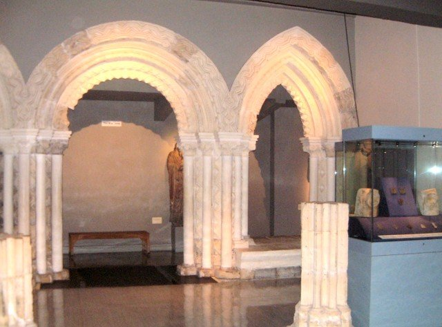 Roman Architecture at the yorkshire Museum