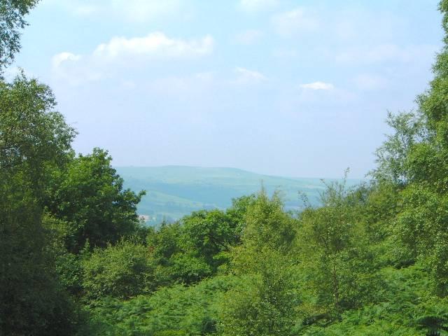 Brimham Rocks Nidderdale view