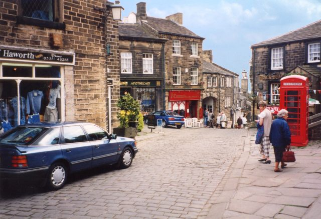 Bronte Haworth village