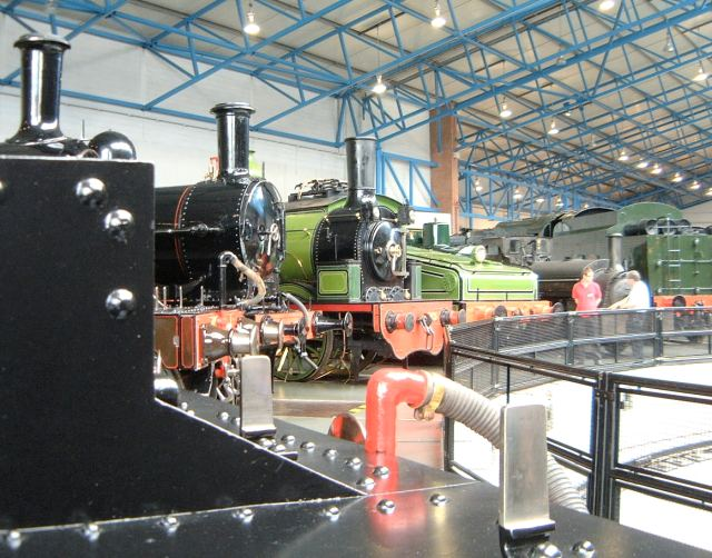 Railway Museum great hall