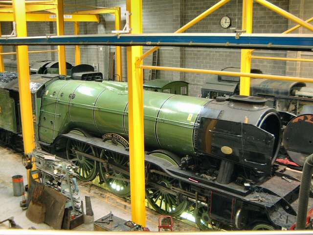 Flying Scotsman locomotive