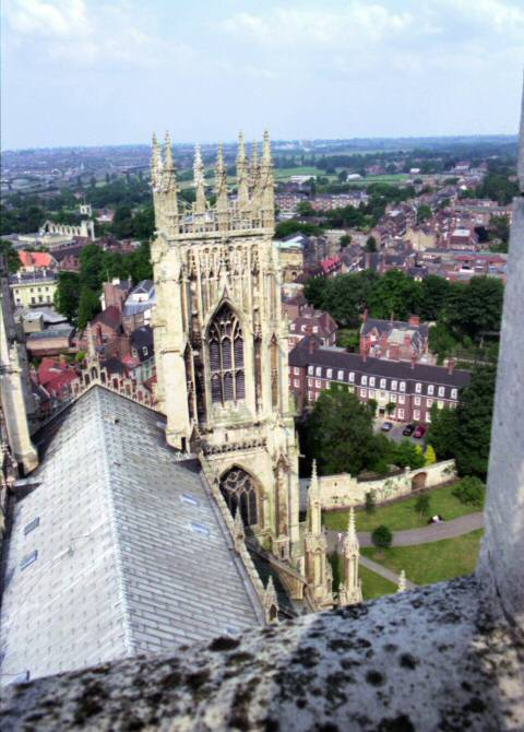 york minster tower view